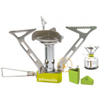 camping stove and gas